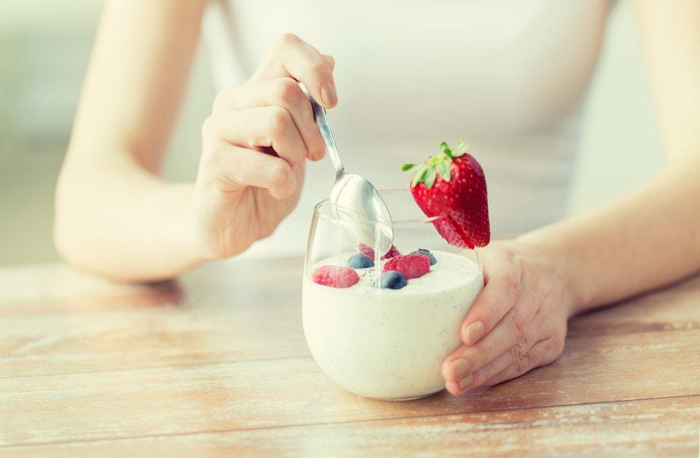 yogurt a fine pasto