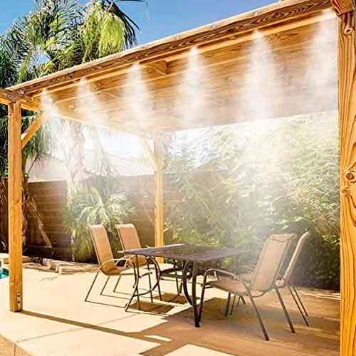 nebulizzatore acqua per giardino come funziona