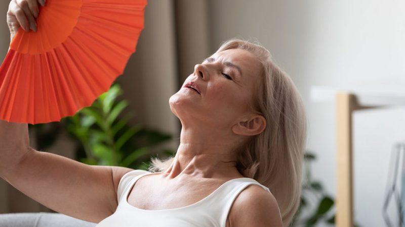 Come combattere le vampate in menopausa