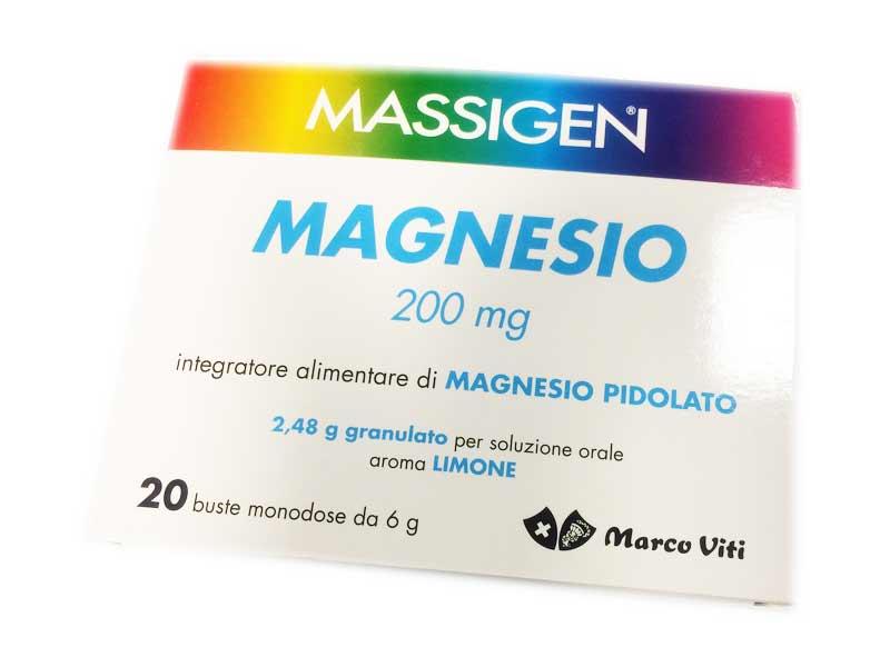 integratore di magnesio pidolato